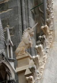 Reims, Cathédrale Notre-Dame, Tour Nord, Animaux